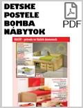 Bomba nábytok detské postele PDF