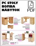 Bomba nábytok PC Stoly PDF