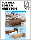Bomba nábytok Postele PDF