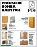 Bomba nábytok Predsiene PDF