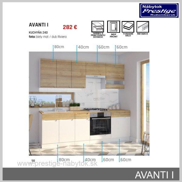 Kuchyňa Avanti 1