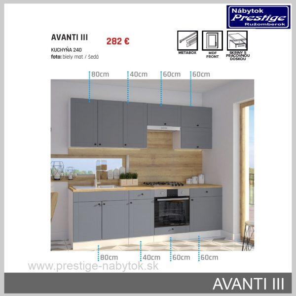 Kuchyňa Avanti 3