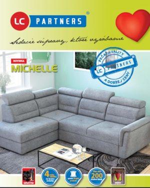 LC Partners sedacie súpravy