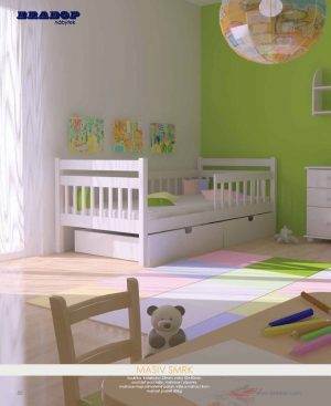 Masív Bradop 48 Detské postele