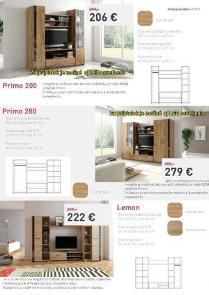 Meblohand 5 Obývačky Primo