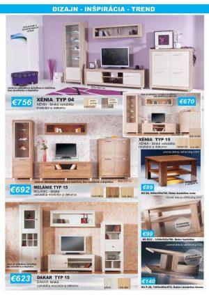 Meuble 4 Akcia Obývačky Xénia