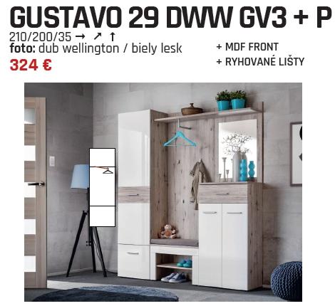 Predsieň Gustavo 29 GV3