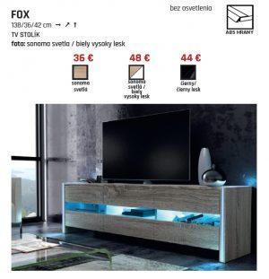 TV Stolík Fox