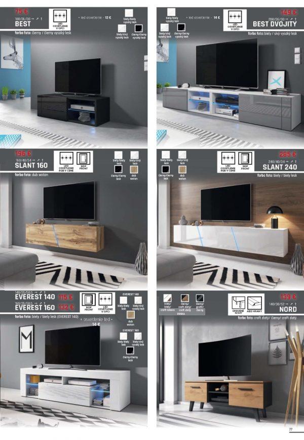 WIPMEB 10 TV Stolíky 4