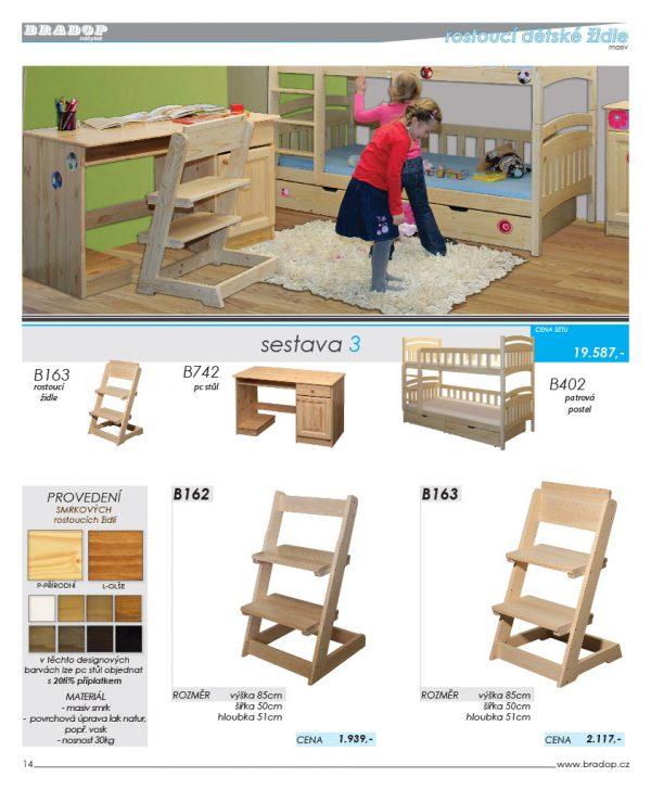 Bradop Detský nábytok 16