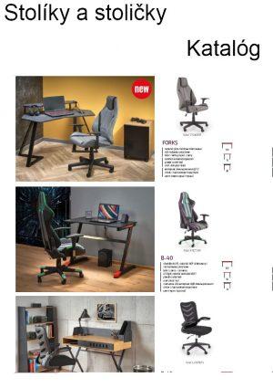 Stolíky a stoličky katalóg 2021
